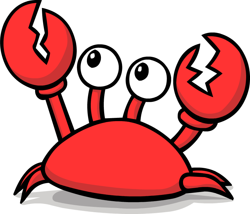 Snow crab clipart vector black and white Collection of 14 free Seafood clipart snow crab sales ... vector black and white