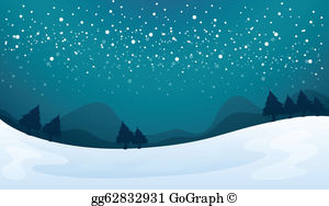 Snow fall clipart download Snowfall Clip Art - Royalty Free - GoGraph download