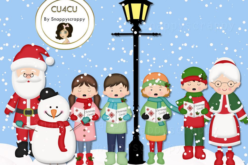 Snow fun clipart image royalty free download Christmas Snow Fun Clipart image royalty free download