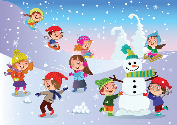 Winter activity clipart picture royalty free Winter clipart winter fun #1 | Winter Lesson Plan | Winter ... picture royalty free