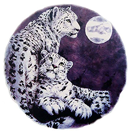 Snow leopard claw clipart image royalty free download Amazon.com: 3420 White Snow Leopard Ceramic Decals By The ... image royalty free download