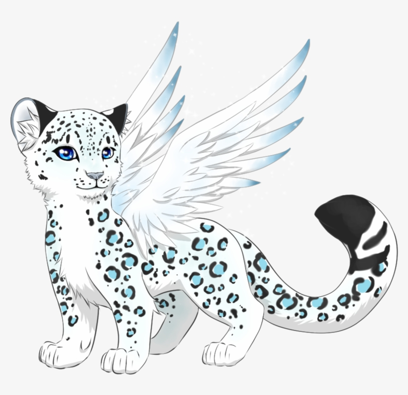 Snow leopard cubs clipart png free library Snow Leopard Clipart - Cute Snow Leopard Drawing - Free ... png free library