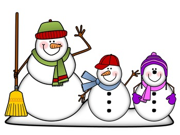 Snow people clipart svg royalty free library Snowman Clip Art: Snow Peeps! {By Busy Bee Clip Art} svg royalty free library