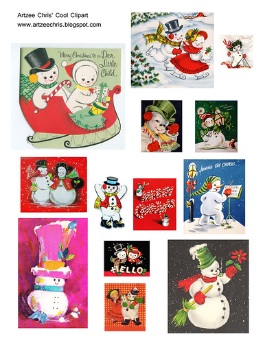 Snow people clipart clip art library Artzee Chris\' Cool Clipart & Graphics: Snow People for You! clip art library