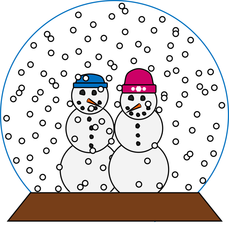 Snow people clipart picture free download Area,Fictional Character,Line Vector Clipart - Free to ... picture free download