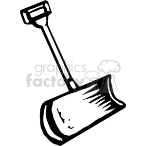 black and white snow shovel clipart. Royalty-free clipart # 384913 clip free download