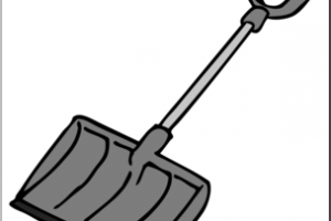 Snow shovel clipart black and white 3 » Clipart Portal clip art royalty free download
