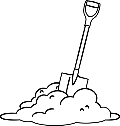 Free Snow Shovel Clipart Black And White, Download Free Clip ... clipart transparent library