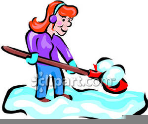 Snow Shovel Clipart Free | Free Images at Clker.com - vector ... clip transparent library