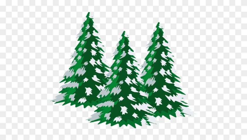 Snow trees clipart picture freeuse library Pine Tree Clipart snow covered tree 9 - 840 X 478 Free Clip ... picture freeuse library