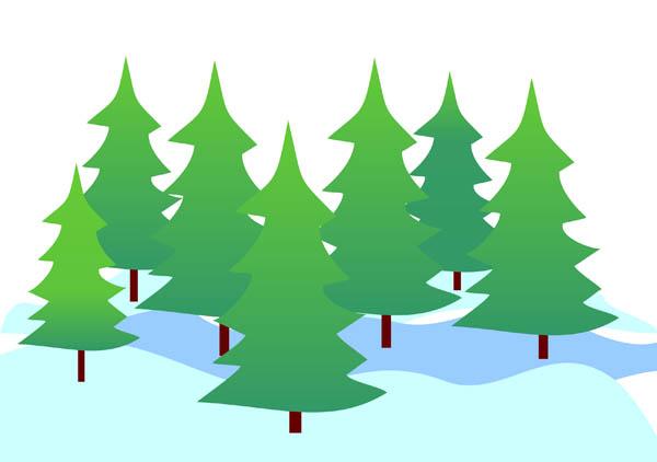 Snow trees clipart clip transparent Free Winter Trees Cliparts, Download Free Clip Art, Free ... clip transparent