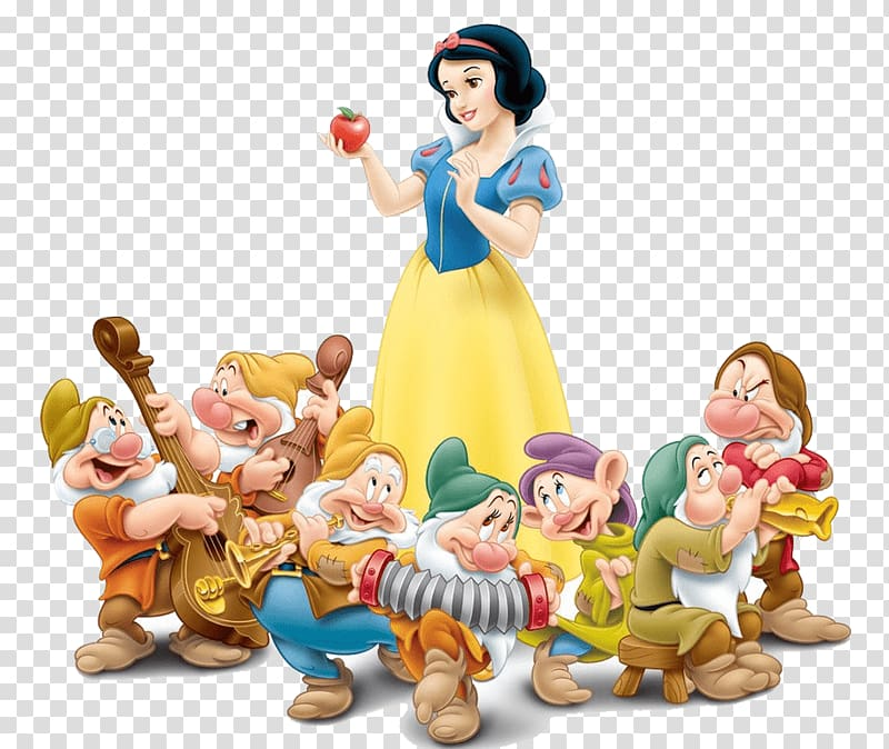 Snow white and the seven dwarfs clipart banner transparent library Seven Dwarfs Snow White Evil Queen Dopey Bashful, snow white ... banner transparent library