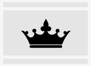 Snow white crown clipart transparent library Black Crown PNG, Free HD Black Crown Transparent Image ... transparent library