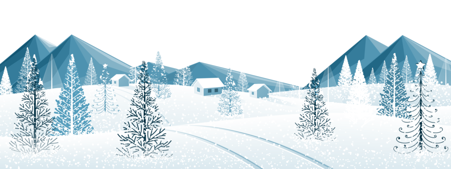 Snow winter clipart image black and white stock Winter House clipart - Winter, Snow, Tree, transparent clip art image black and white stock