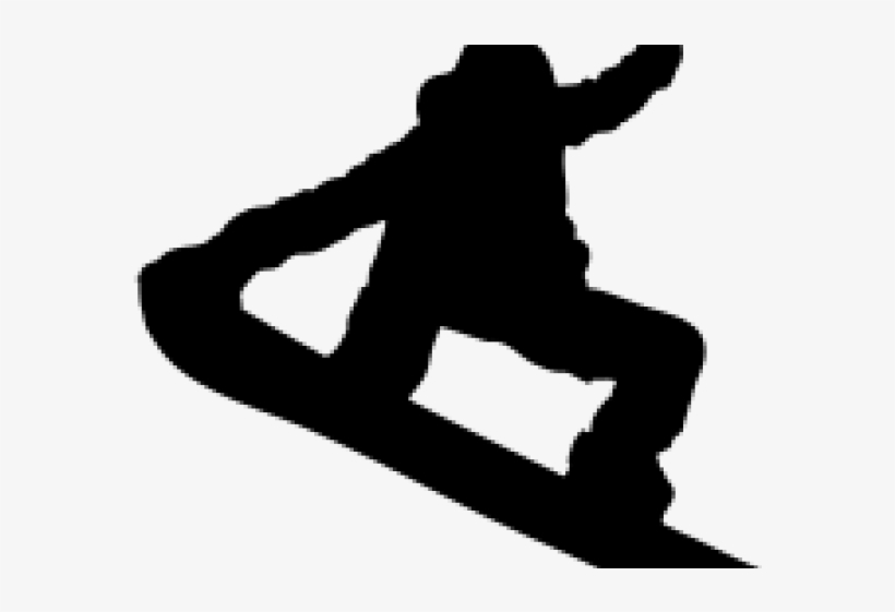 Snowboard clipart clip library download Snowboard Clipart Snowboarder Silhouette - Snowboarder ... clip library download