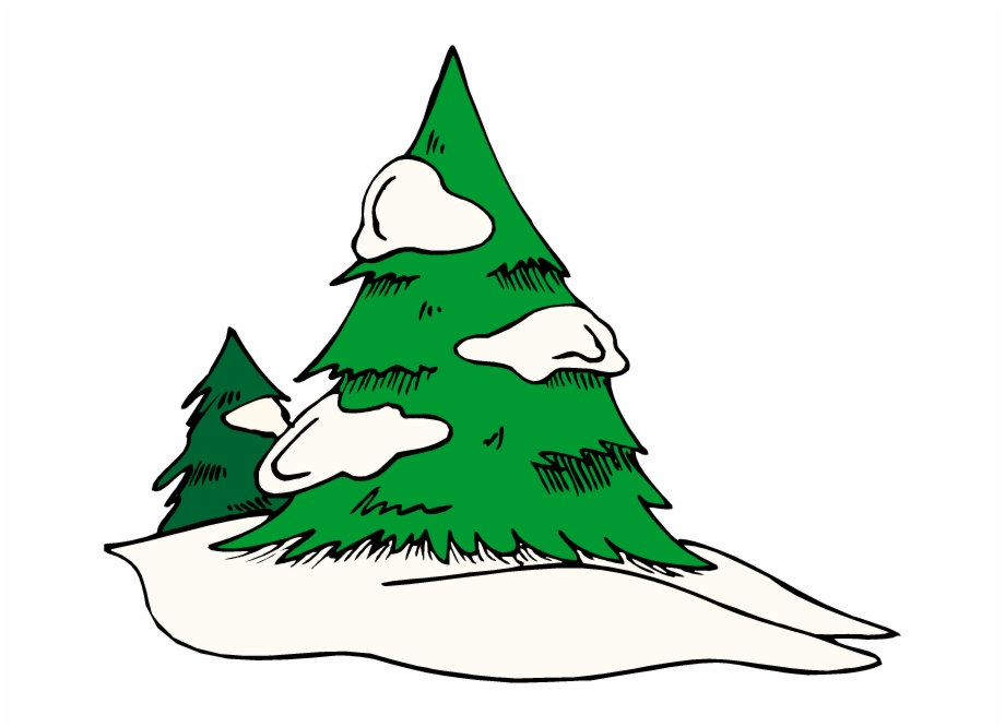 Snowed in clipart clip black and white library Green Free Pine Tree Clipart School - Tree With Snow Clip ... clip black and white library