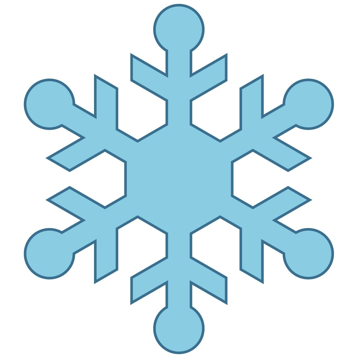 Snowglake clipart royalty free Simple Snowflakes Clipart Simple snowflakes clipart | Frozen ... royalty free