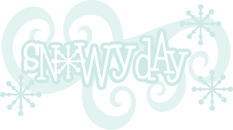 Snowflake bentley clipart banner freeuse download Snowy Day SVG scrapbook title snow svg files snowflake svg cut file ... banner freeuse download