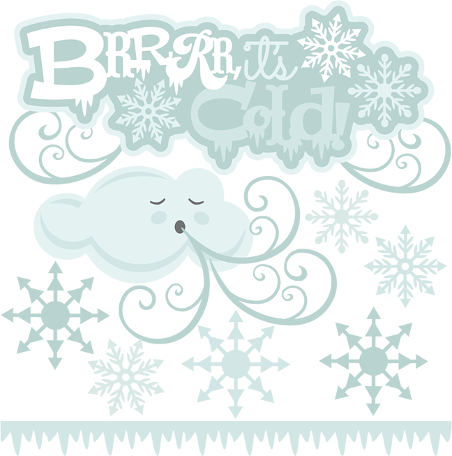 Snowflake bentley clipart picture freeuse Brrrr, It's Cold SVG cutting files for scrapbooking winter svg cuts ... picture freeuse