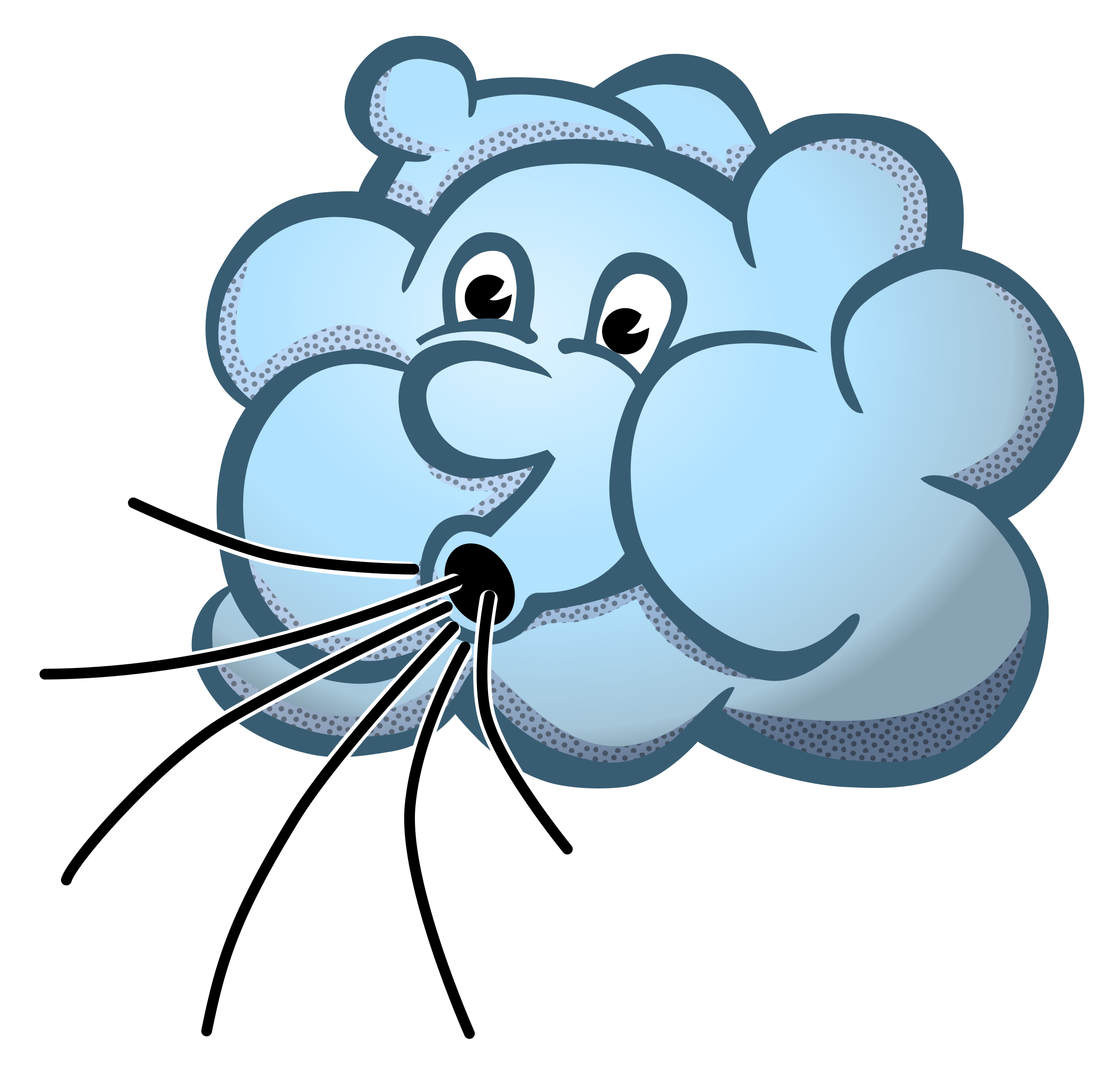 Snowflake blowing in wind clipart svg free library 28+ Collection of Icy Wind Clipart   High quality, free cliparts ... svg free library