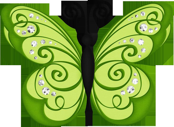 Snowflake butterfly clipart royalty free library BORBOLETAS & JOANINHAS E ETC. | CLIPART - BUTTERFLIES | Pinterest ... royalty free library