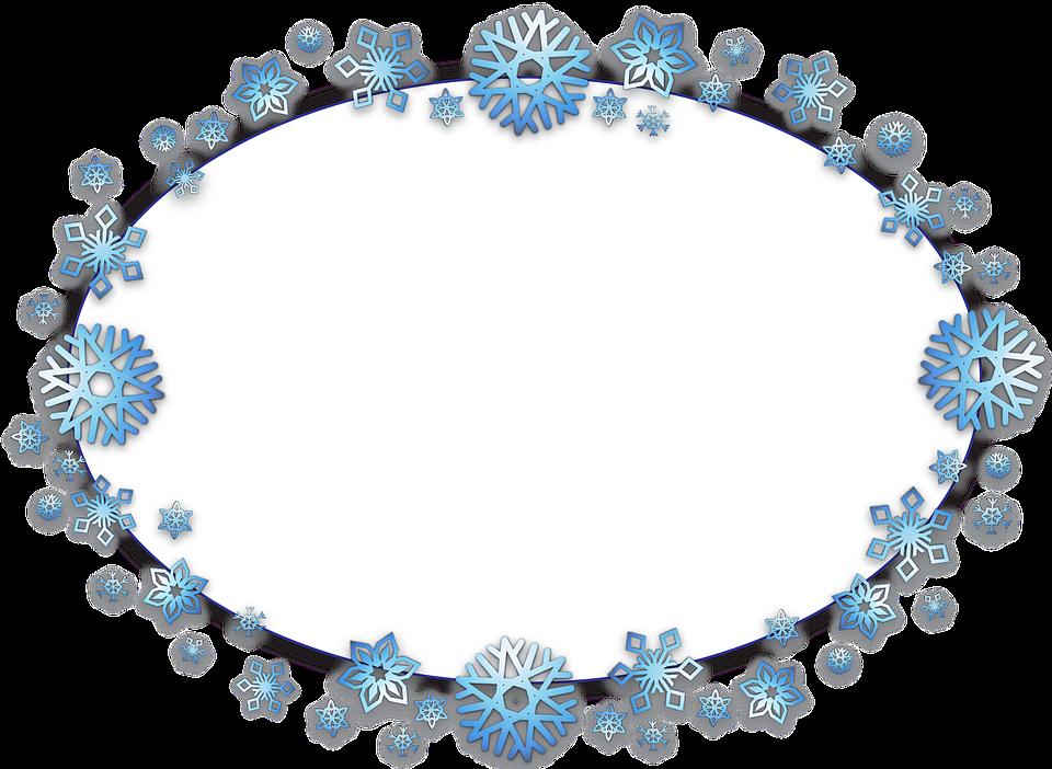 Snowflake circle frame clipart svg transparent library ForgetMeNot: Frames svg transparent library