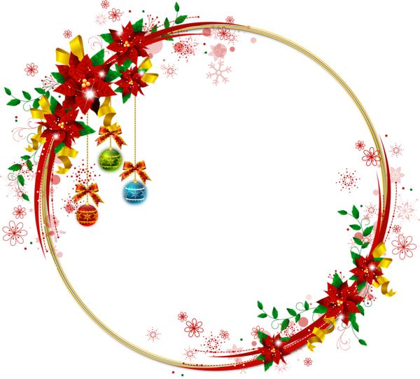 Snowflake circle frame clipart picture transparent stock christmas transparent png borders and frames ... picture transparent stock
