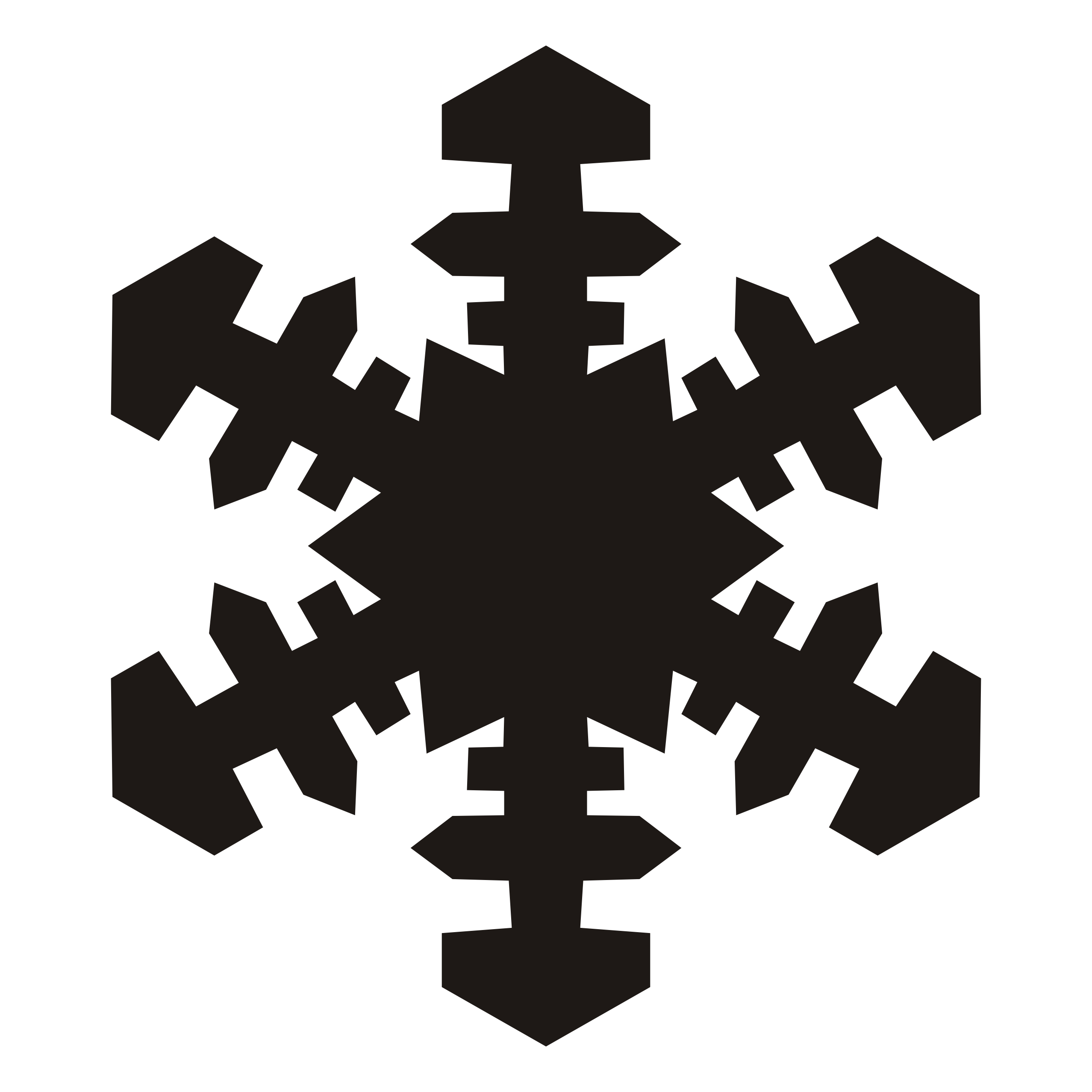 Snowflake clipart black and white border clipart freeuse library Snowflake Cliparts White Free collection | Download and share ... clipart freeuse library