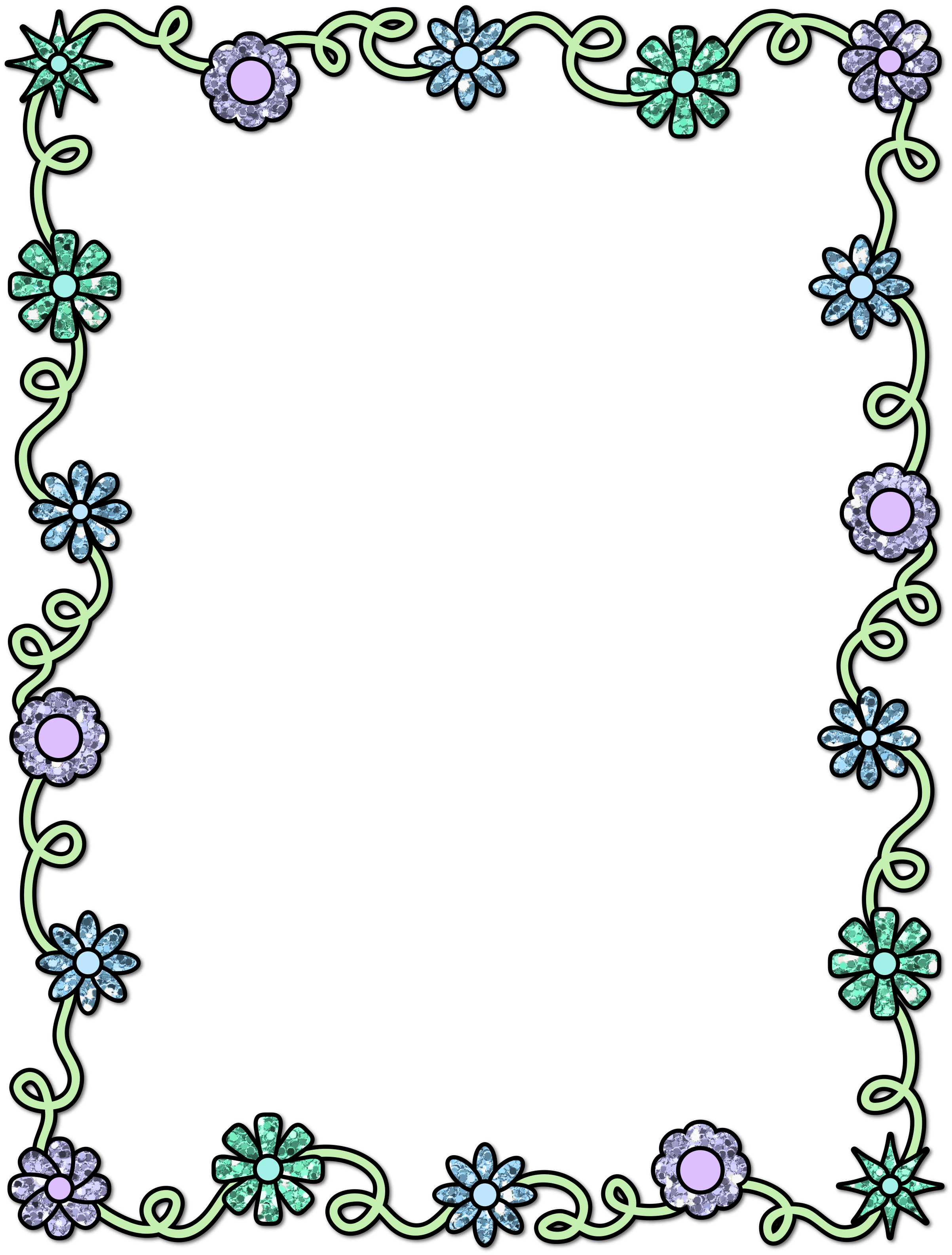 Snowflake clipart border you can write on clipart royalty free library Pin by Kristin Robson on clip art | Pinterest | Border design, Paper ... clipart royalty free library