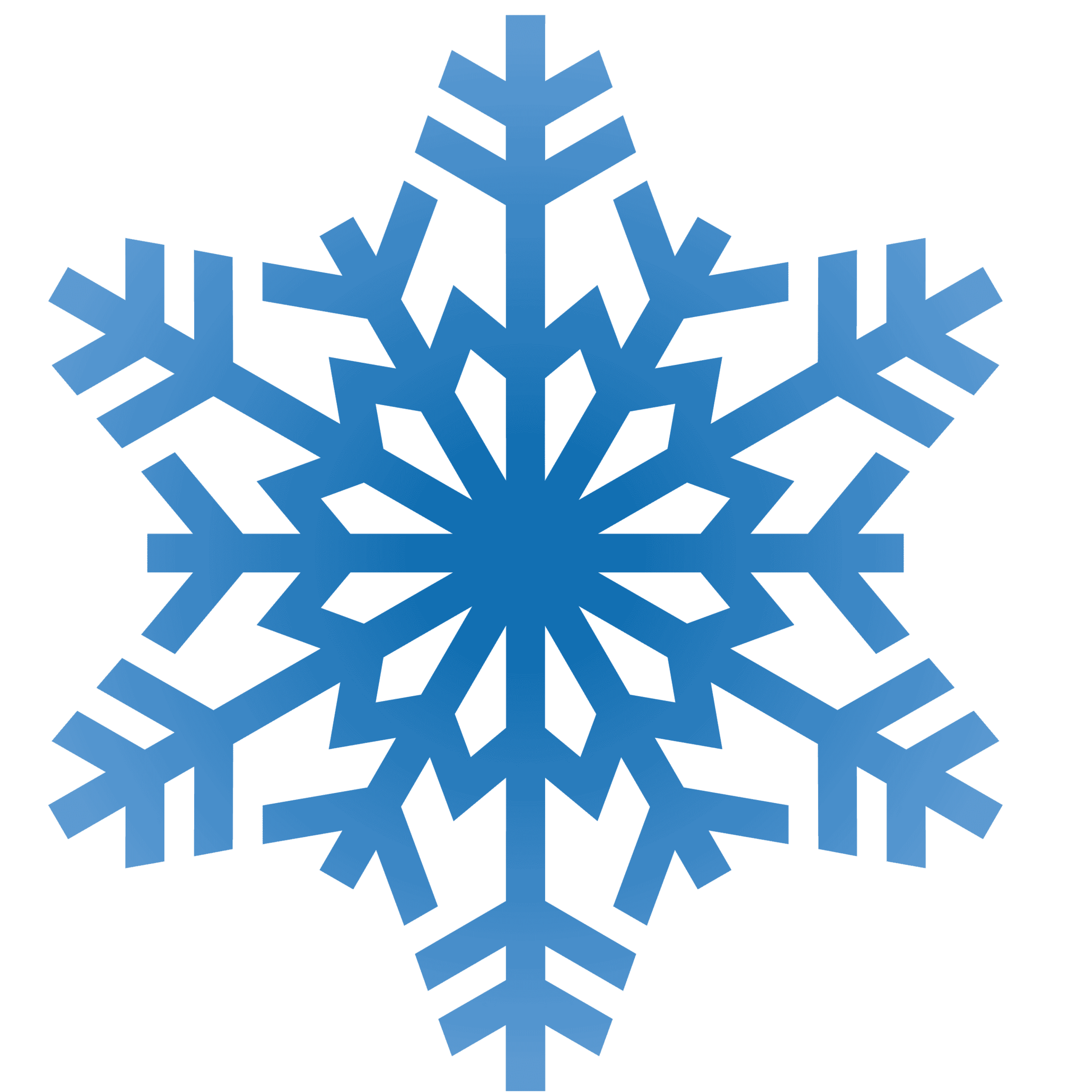 Snowflake clipart color png freeuse stock Winter Clipart - clipart png freeuse stock