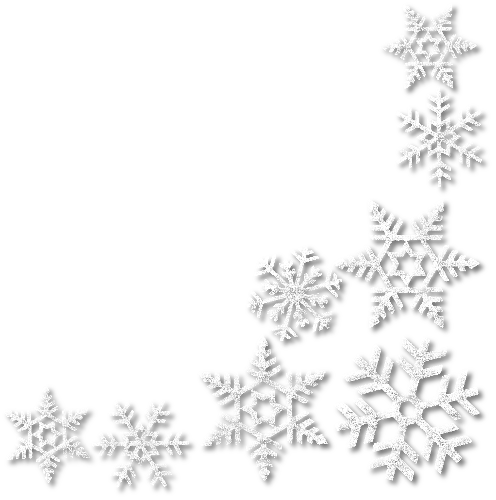 Snowflake clipart corner image free library нαρρу нσℓι∂αуѕ! image free library