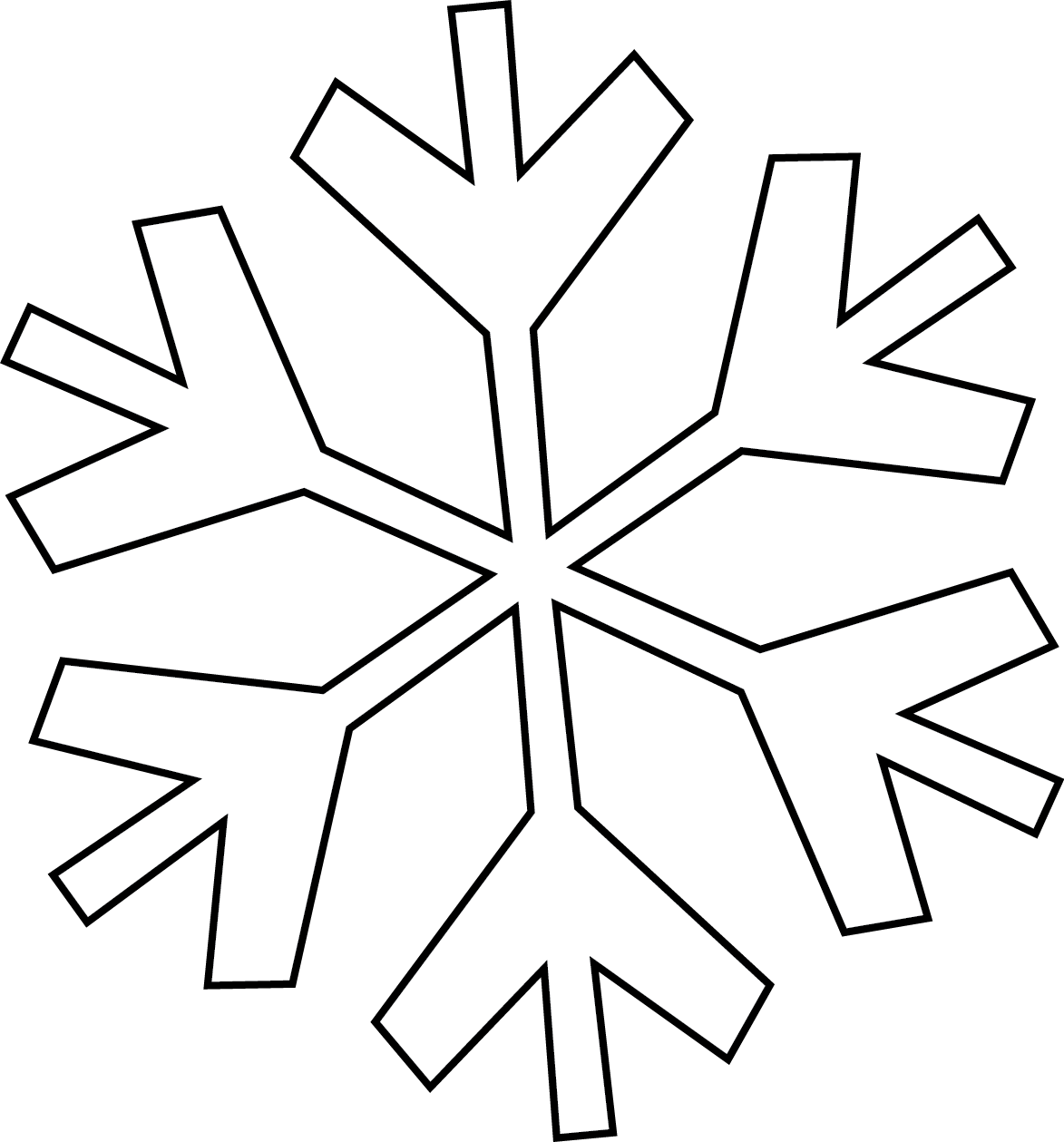 Snowflake words clipart clip art royalty free download Snowflake Black And White | Free download best Snowflake Black And ... clip art royalty free download