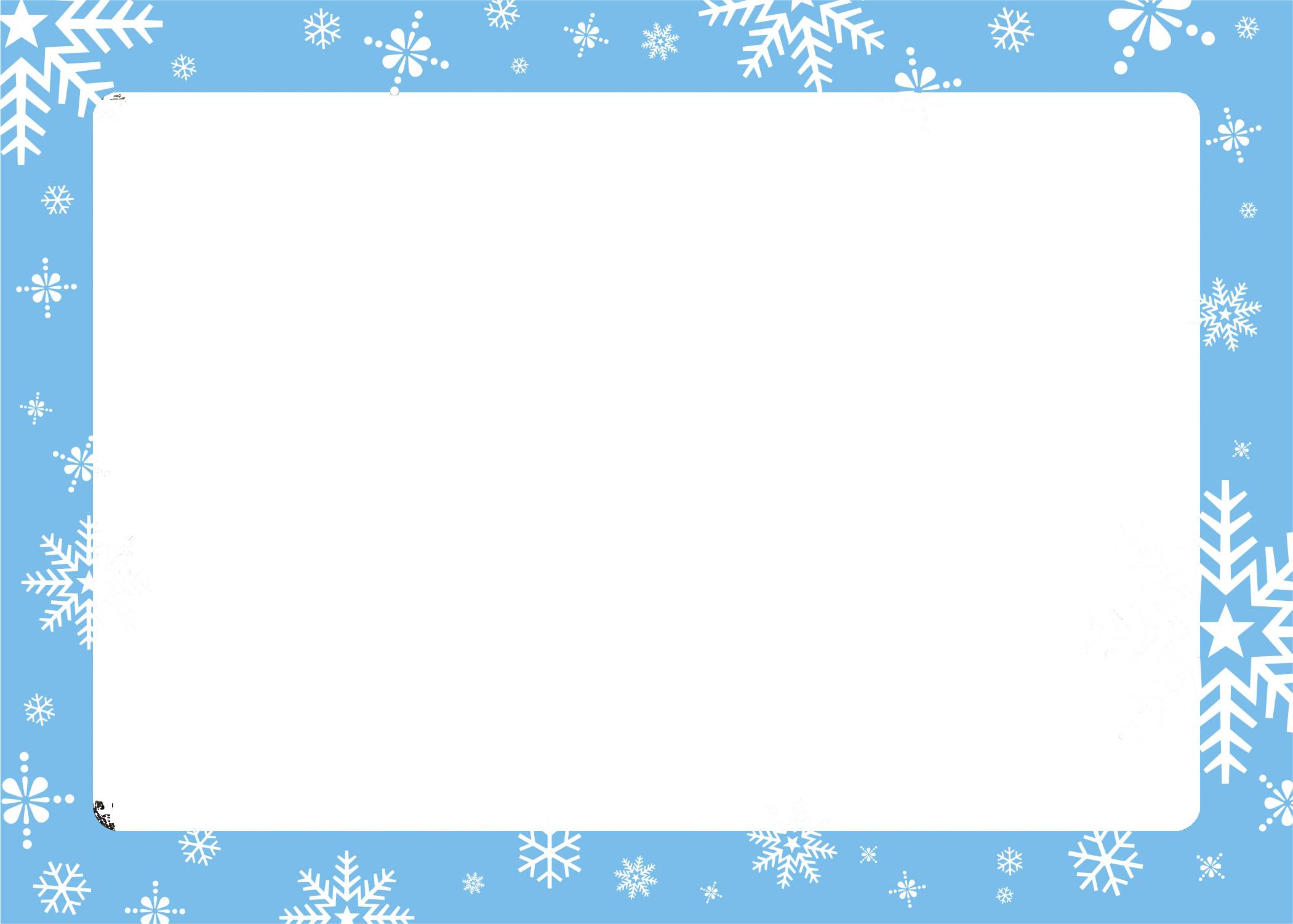 Snowflake clipart microsoft banner transparent download Winter Borders Microsoft Clipart #1916105 banner transparent download