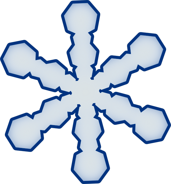 Snowflake clipart photo svg free stock Simple Snowflake Clipart - Clip Art Library svg free stock