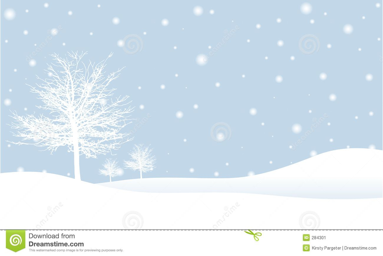 Winter snow clipart silhouette png freeuse stock simple winter photos | Snow Scene Clipart – 101 Clip Art ... png freeuse stock