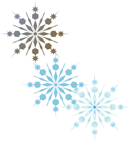 Snowflake clipart t clip black and white Snowflakes Clip Art at Clker.com - vector clip art online, royalty ... clip black and white