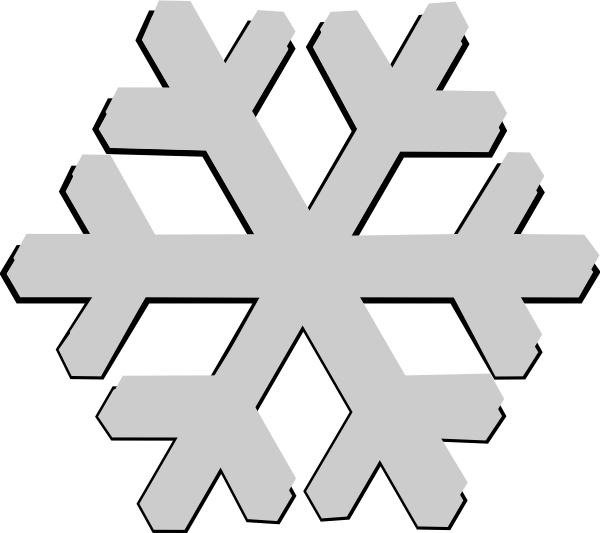 Snowflake cold clipart png freeuse Snowing clipart grey ~ Frames ~ Illustrations ~ HD images ~ Photo ... png freeuse