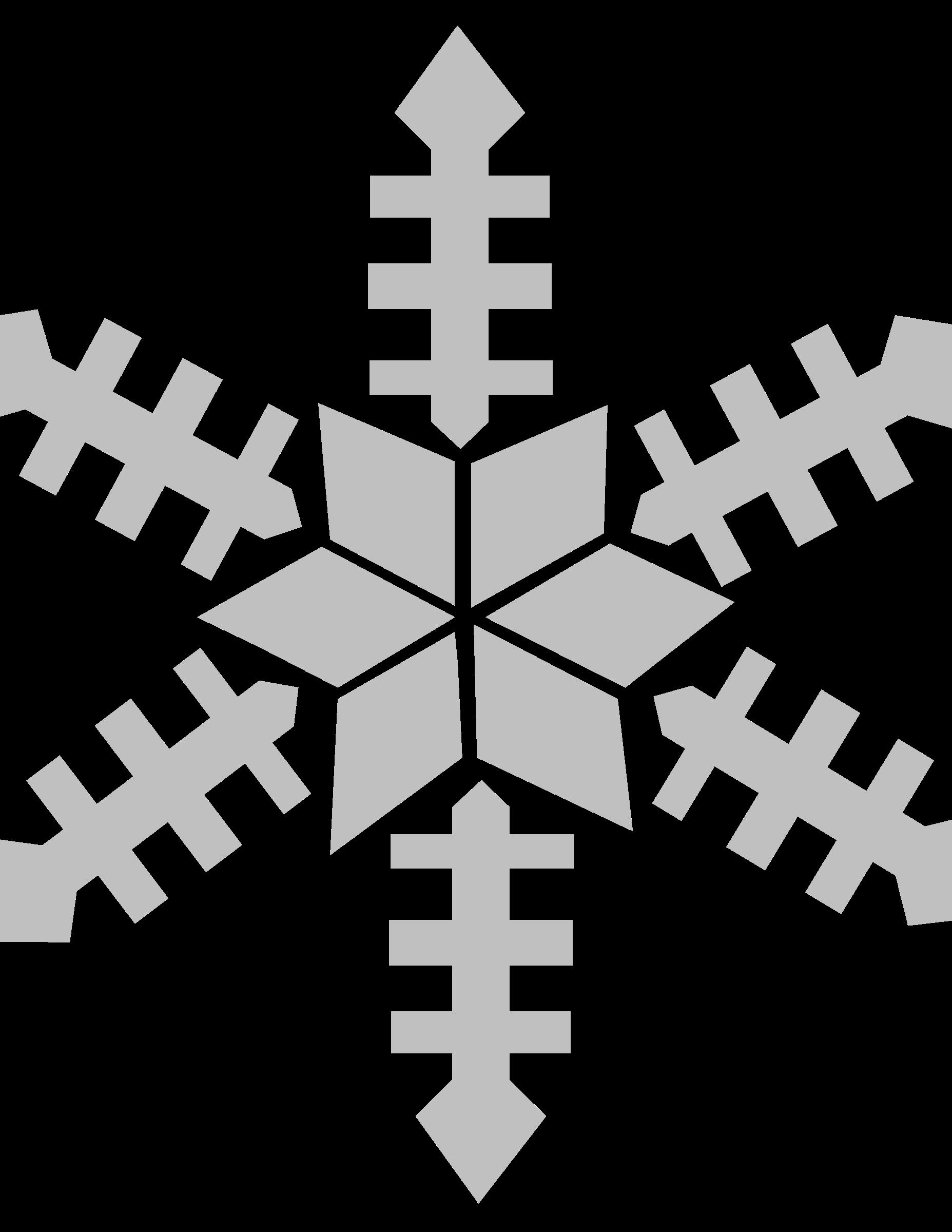 Snowflake cross clipart banner transparent stock Clipart - snowflake banner transparent stock