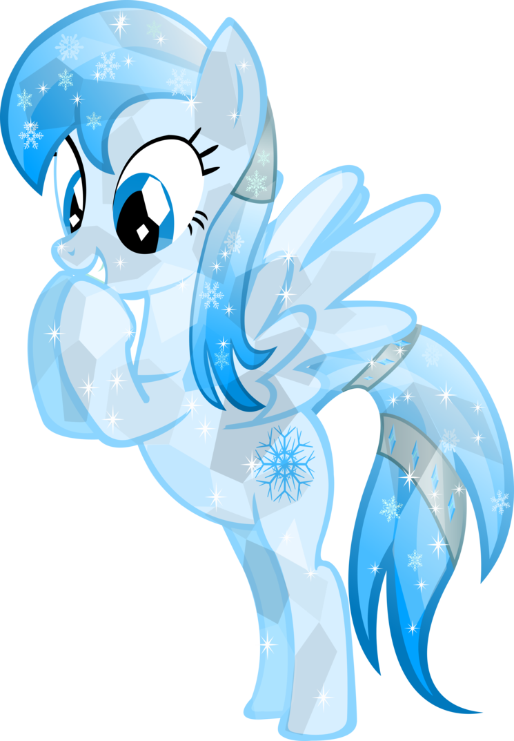 Snowflake wind clipart free library Crystal Frozen Snowflake by Vector-Brony on DeviantArt free library