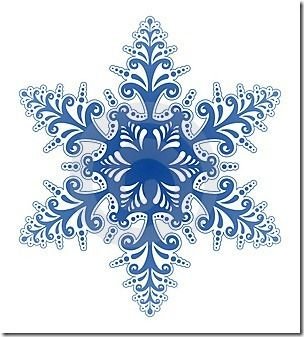 Snowflake free clipart png transparent library Image result for clipart snowflake borders free | Dot ... png transparent library