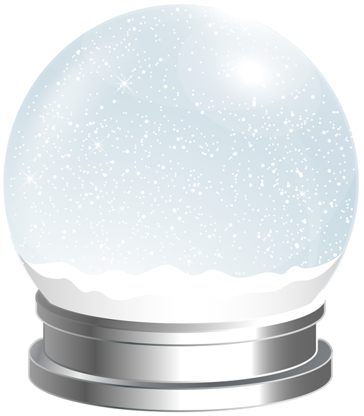 Snowflake globe clipart png freeuse library Empty Snow Globe PNG Clip Art Image | Christmas | Pinterest | Empty ... png freeuse library