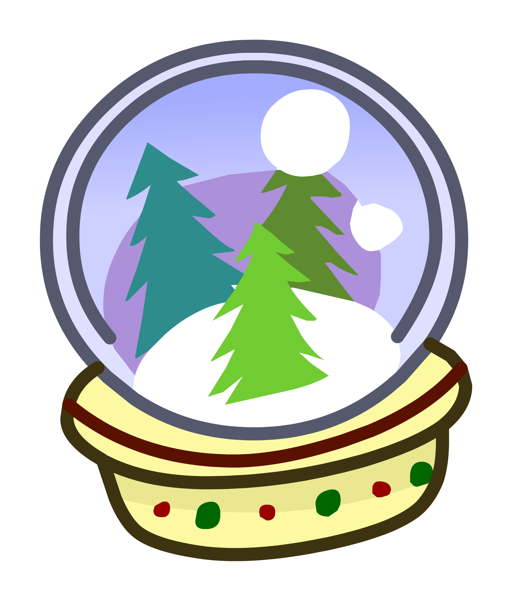 Snowflake globe clipart image library download Snow Globe Pin | Club Penguin Wiki | FANDOM powered by Wikia image library download