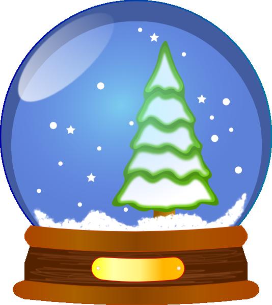 Snowflake globe clipart clip stock Snowball Clip Art at Clker.com - vector clip art online, royalty ... clip stock