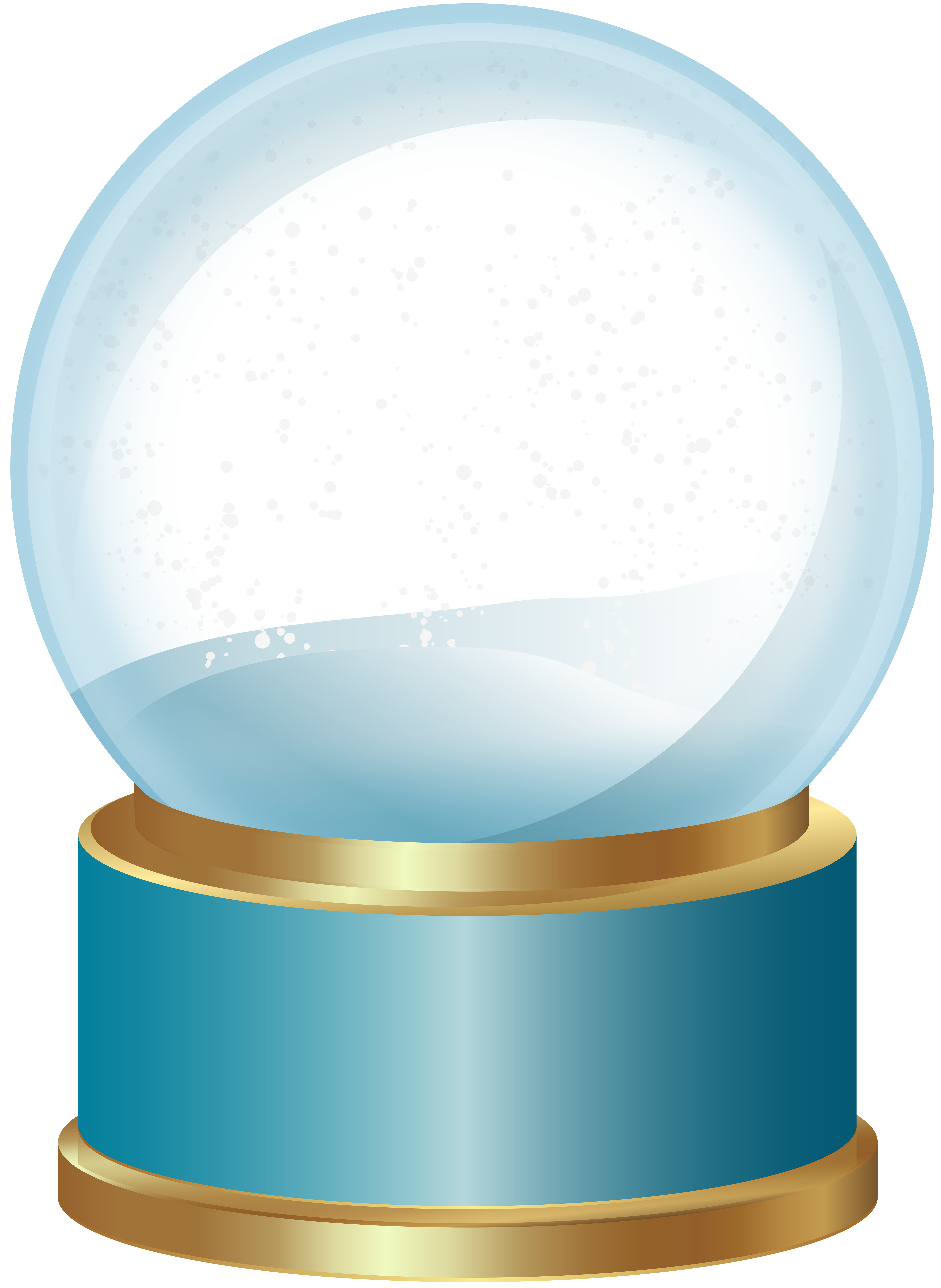 Snowflake wallpaper free clipart picture download Empty Snow Globe Blue PNG Clip Art | Gallery Yopriceville - High ... picture download