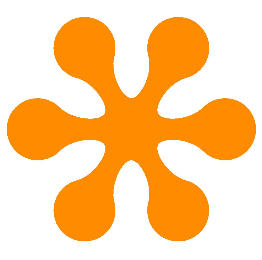 Snowflake image clipart image to colole jpg transparent Orange Color Clipart | Clipart Panda - Free Clipart Images jpg transparent