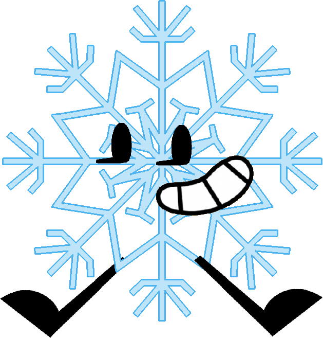 Snowflake label clipart image black and white download Snowflake | Object Shows Community | FANDOM powered by Wikia image black and white download