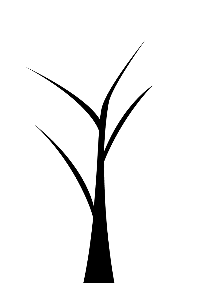 Snowflake leaf black and white clipart png free download Twig Black and white Plant stem Leaf Pattern - Cartoon painted ... png free download