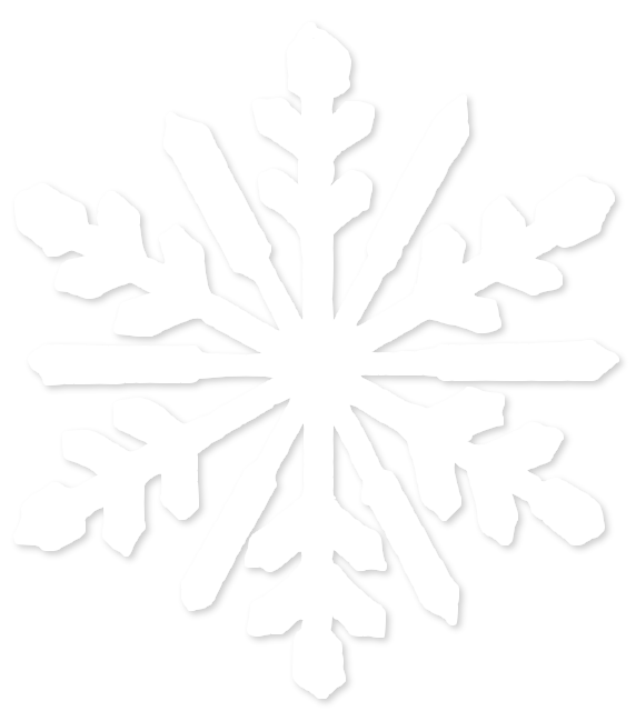 Snowflake leaf black and white clipart vector library stock 28+ Collection of White Snowflake Clipart Png | High quality, free ... vector library stock
