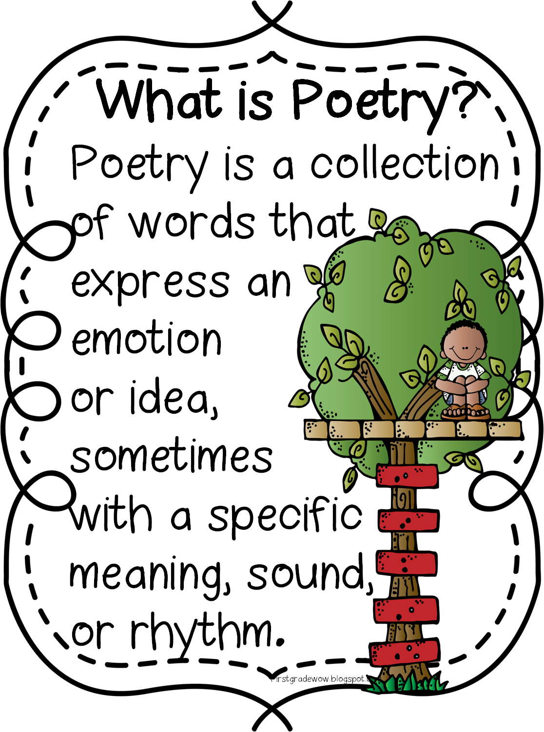 Snowflake poem clipart free free library Poetry Unit Updated! | First Grade Wow | Bloglovin' free library