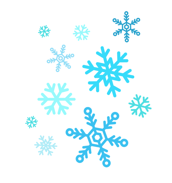 Winter clipart snow flakes banner black and white download Free Snowflake Cliparts, Download Free Clip Art, Free Clip ... banner black and white download